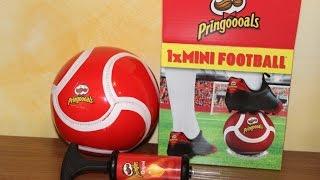 Посылка приз от Pringles мини футбольный мяч