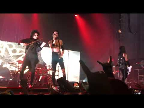 Black Veil Brides - Lost it All  (Live In Houston Texas 2/17/18)