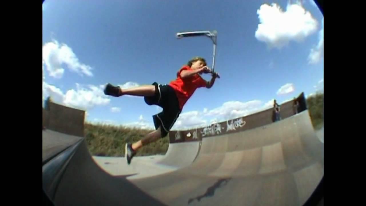 Stunt Wallpaper Hd Worlds Craziest Scooter Tricks 5 Youtube