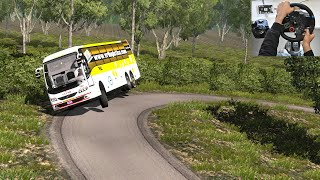 VRL Travels Volvo Bus Race | Euro truck simulator 2 with bus mod | Volvo Bus driving | indian driver