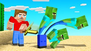 Every MOB You Kill MULTIPLIES in MINECRAFT! (too many zombies)