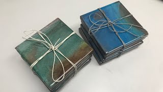 How to Make Coasters with Epoxy Resin and Wood - Step by Step