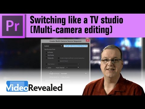 Switching like a TV studio (Multi-camera editing)