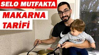 MAKARNA YAPMAYI ÖĞRENDİM l Selo Mutfakta l Yemek Tarifi l Nasıl Yapılır l Turna Ailesi