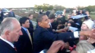 Chrissy meets Obama / Ida Lee Park Leesburg, VA