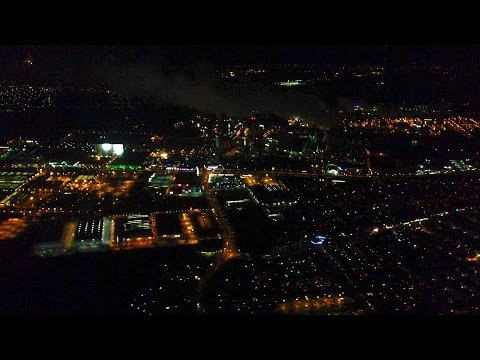 Take off Berlin Tegel at Night -- Lufthansa Airbus A320-100/200 -- LH 2853