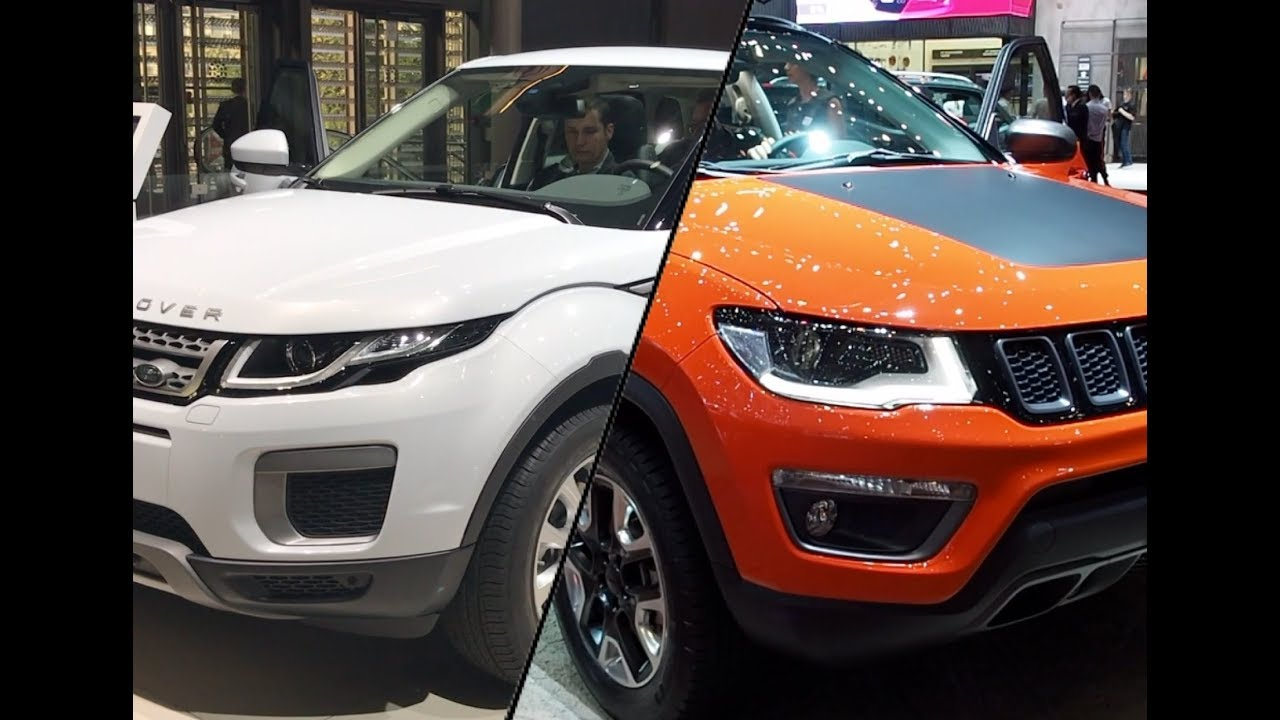 Jeep Compass Vs Range Rover Evoque Youtube