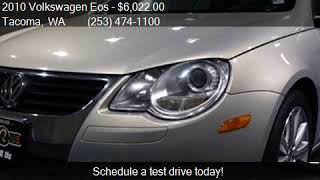 2010 Volkswagen Eos Komfort 2dr Convertible 6A for sale in T thumbnail
