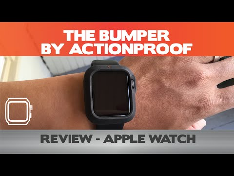 timeless design 5d813 e4d8c The Bumper by Actionproof Review - Apple Watch Accessories - YouTube