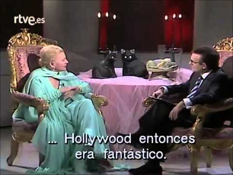 Joan Fontaine Interview (1989) Part 1/2
