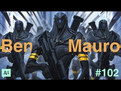 Art Cafe #102 - Ben Mauro - Personal Projects, Working In Film As An Artist And Productivity Tips