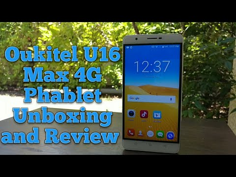 Oukitel U16 Max 4G Phablet Unboxing and Review