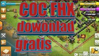 Gambar cover download coc fhx mod baru apk 2019 terbaru