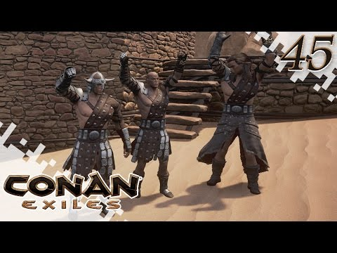 CONAN EXILES - PVP Fun! - EP45 (Gameplay)