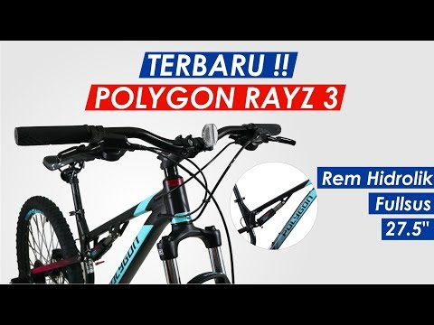 "SEPEDA POLYGON RAYZ 3 2019 ( 27.5"" )"