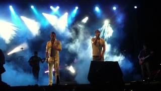 Concierto Alcalá de Henares Andy&Lucas COMPLETO 28 08 2013 Sandra Olmos