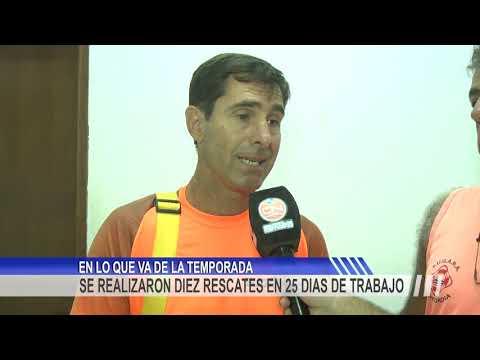 Guardavidas realizaron 10 rescates en 25 días de actividad