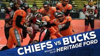 Chiefs vs Bucks Highlights | Vermont Bucks | Heritage Ford