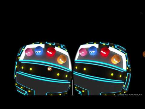 360 video of pacman game