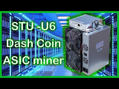 STRONGU   STU-U6 Dash Coin Miner Installation And Review!?