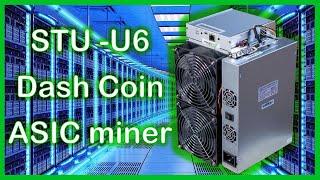 sTRONGU   STU-U6 Dash coin miner installation and review!?