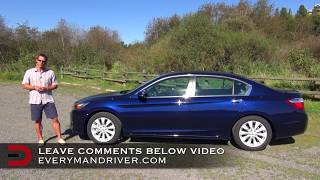 2014 Honda Accord Review on Everyman Driver