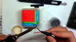 пайка жиром и флюс пастой. soldering flux paste and fat(Паяльная паста https://goo.gl/DRsK73 Партнёрка Адмитад https://www.admitad.com/ru/promo/?ref=74a2ac4549 Партнёрка Air http://join.air.io/MAXlevsha., 2015-07-09T18:26:25.000Z)