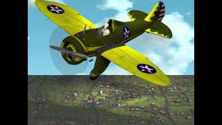 Boeing P-26A Peashooter for Poser