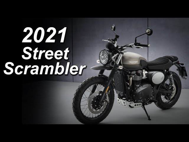 2021 Triumph Street Scrambler (Sandstorm) - Update Overview