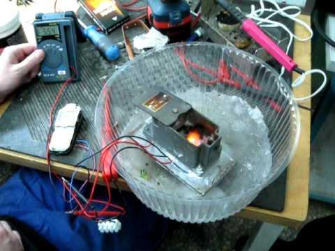 Элемент Пельтье как генератор электроэнергии - YouTube