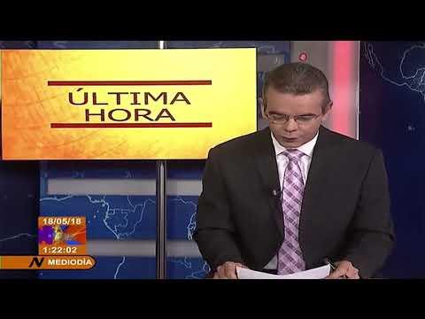 ULTIMA HORA: Se estrella avión en La Habana, Cuba con destino a Holguín