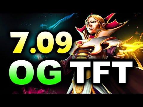 OG vs TFT - 7.09 NEW PATCH! - EU EPICENTER XL DOTA 2