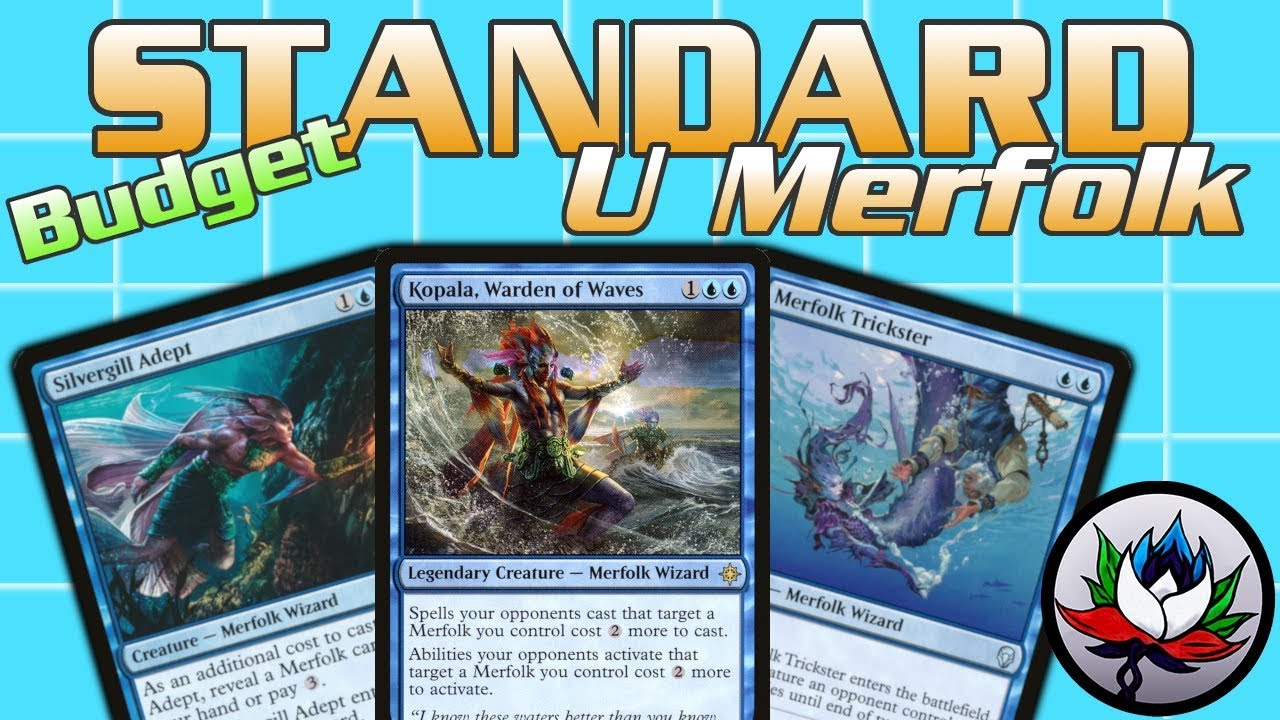 MTG – $25 Budget Merfolk Wizard Tribal Standard Deck Tech for Magic: The  Gathering!