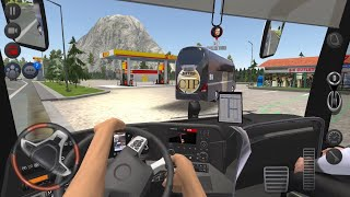 Scary Mountain Driving Adventure !!! Bus Simulator : Ultimate Multiplayer! Bus Wheels Games Android