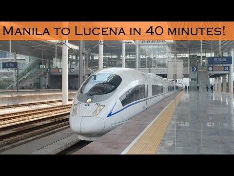 Full Alignment - Philippines High Speed Rail (Calabarzon)