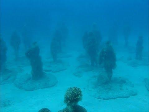 Lanzarote onderwatermuseum