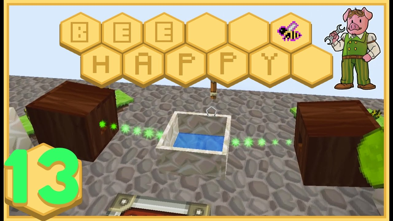 Minecraft: Bee Happy - #13 - The Road to Redstone (FTB Modded Minecraft)