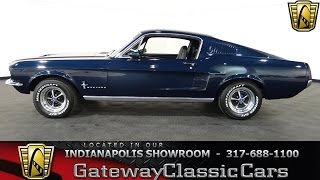 1967 Ford Mustang Fastback 2+2 - #345-ndy - Gateway Classic Cars - Indianapolis