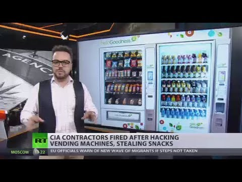 Download Youtube: Hunger Games: CIA contractors fired after hacking vending machines, stealing snacks