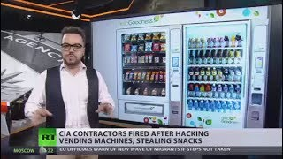 Hunger Games: CIA contractors fired after hacking vending machines, stealing snacks thumbnail