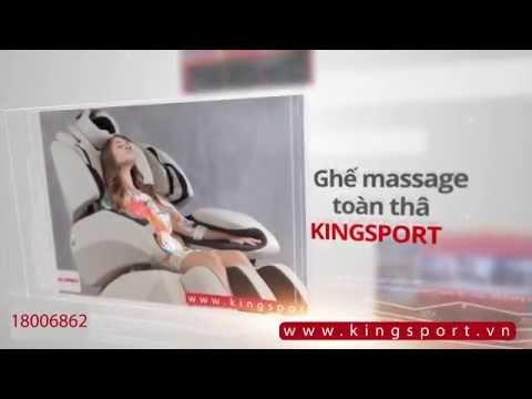 Xả stress với Ghế massage toàn thân KINGSPORT 14 - tổng đài Free 18006862