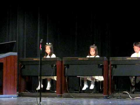 Yamaha Music School Annual Recital 2009 - Piano Part