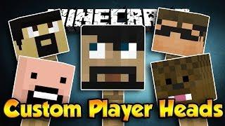 How to Get Custom Player Heads (Minecraft 1.10) [No Mods, Super Easy]