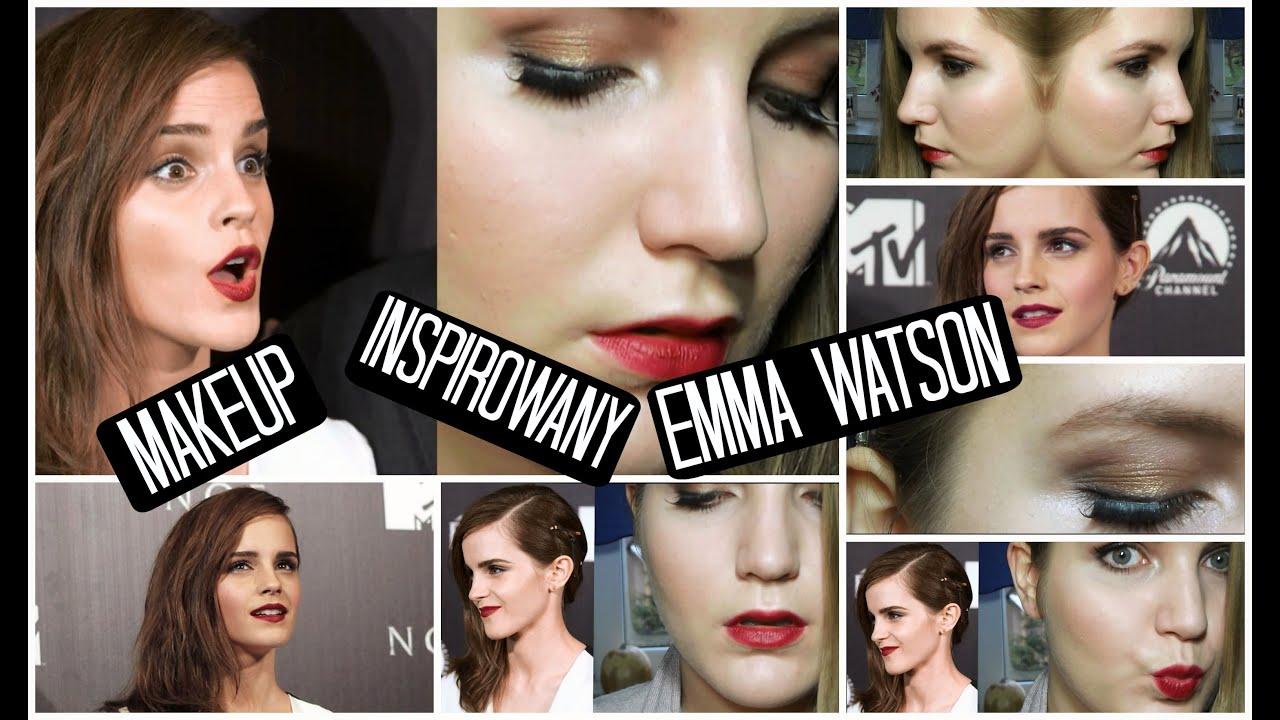 Makijaż inspirowany Emmą Watson/ Emma Watson inspired ...  Makijaż inspir...
