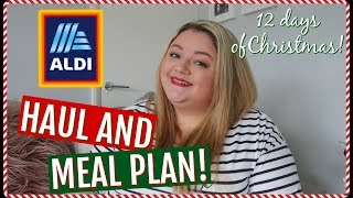 ALDI GROCERY HAUL - FAMILY OF 3 & MEAL PLAN || My Happy Ever After