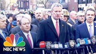 NYC Mayor Bill De Blasio: 'This Was An Attempted Terrorist Attack' | NBC News
