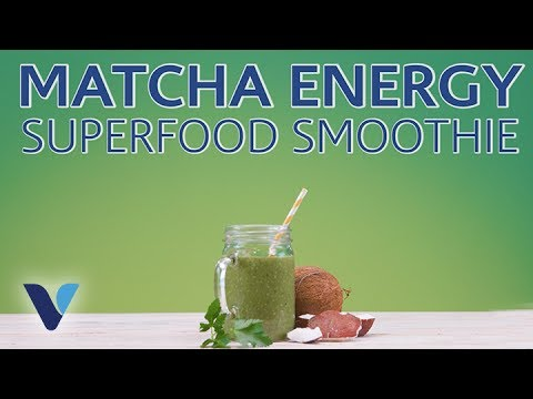 Matcha Energy Superfood Smoothie Recipe