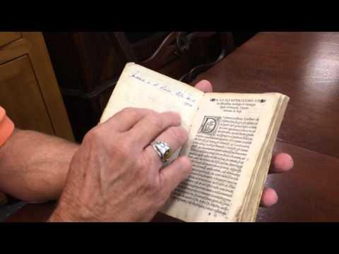 Antique 16th Century Velum Bound Book Vegetio Arte Militare Circa 1540 The Art of Military Condition