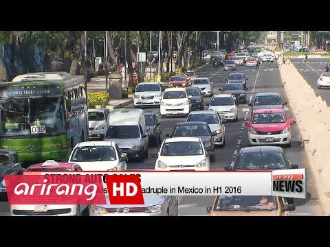 Hyundai, Kia sales nearly quadruple in Mexico in H1 2016