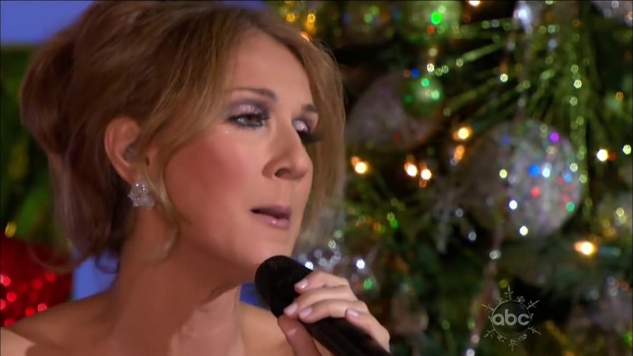 Celine Dion - Don't save it all for christmas day (Disney Christmas 2009) - YouTube